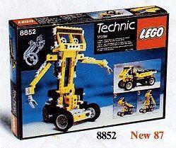Set 8852 - Technic: Robot- Nieuw