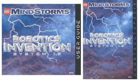 Set 9747 BOUWBESCHRIJVING- Robotocs Invention System 1.5 gebruikt loc