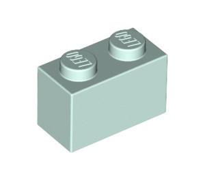 3004-152 Steen 1x2 Aqua- licht NIEUW loc L1-4