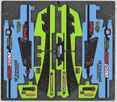 42037stk01 STICKER Formula Off-Roader NIEUW *0S0000