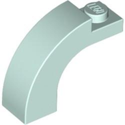 6005-152 Steen, boog 1x3x2 boven rond 1 nop bovenop (NIEUW)