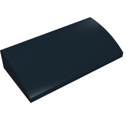 88930-11G Dakpan gebogen 2x4x2/3 geen noppen, MET bodemtubes zwart gebruikt *1R028