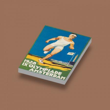 CUS1030 Tegel 2x3 Olympische Spelen 1928 wit NIEUW *0A000