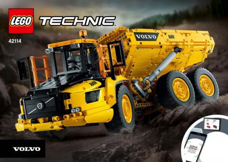 INS42114 42114 BOUWBESCHRIJVING- 6x6 Volvo actuated Hauler NIEUW *