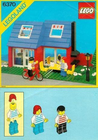 INS6370-G 6370 BOUWBESCHRIJVING- Weekend Home gebruikt *LOC M2