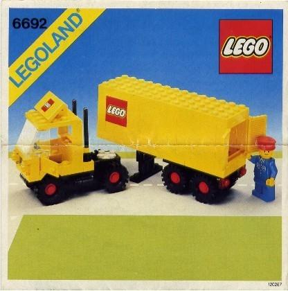INS6692-PG 6692 BOUWBESCHRIJVING- Tractor Trailer PUNCHHOLES gebruikt *LOC M3