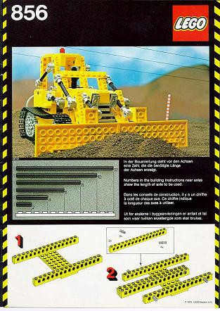INS856-G 856 BOUWBESCHRIJVING Bulldozer gebruikt *
