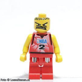 nba028 NBA Tony Parker, speler #2 VERENDE BENEN NIEUW loc