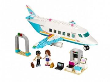 Set 41100-G - Friends: Heartlake Private Jet D/H/97%- gebruikt