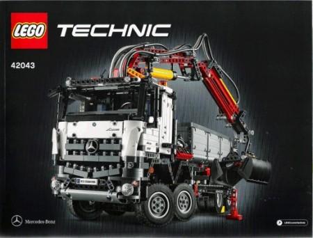 Set 42043 BOUWBESCHRIJVING- Mercedes-Benz Arocs 3245 Technic NIEUW loc