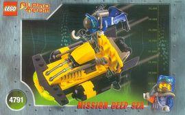 Set 4791 BOUWBESCHRIJVING- Alpha Team- Mission Deep Sea Alpha Team gebruikt loc