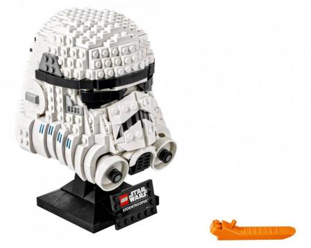 Set 75276-GB Stormtrooper Helmet gebruikt deels gebouwd *B036