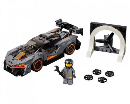 Set 75892-GB McLaren Senna gebruikt deels gebouwd *B036