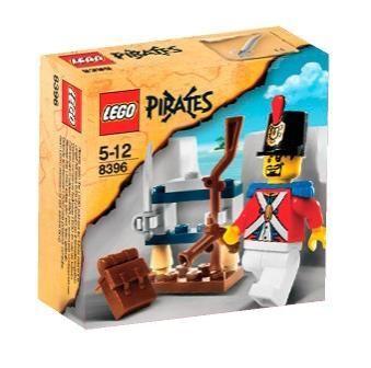Set 8396-G - Pirates: Soldier's Arsenal- gebruikt