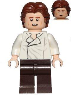 sw823 Star Wars: Han Solo, donkerbruine broek NIEUW loc