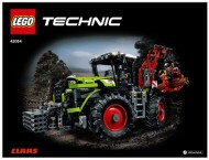 Set 42054 BOUWBESCHRIJVING- Claas Xerion 5000 trac VC Technic NIEUW loc