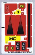 10248stk01 STICKER Ferrari F49 NIEUW loc
