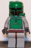 sw002aG Star Wars:Boba Fett blauwgrijs gebruikt loc