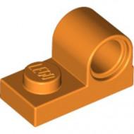 11458-4 Plaat 1x2 met pingat bovenop oranje NIEUW *1L318