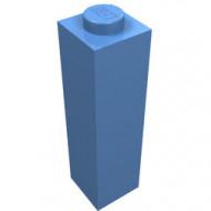 14716-42 Steen 1x1x3 blauw, midden NIEUW *5K0000