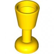 2343-3G Bokaal geel gebruikt *0L0000