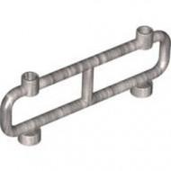 2486-67 Hek van buizen nopgaten bovenop 1x8x2 zilver, metallic NIEUW *1L16-6