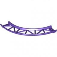 25061-89 Baan rollercoaster 90 graden gebogen paars, donker NIEUW *