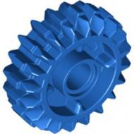 35185-7 Technic, Tandwiel 20 tanden Double Bevel NET CLUTCH 2 zijden blauw NIEUW *0D000