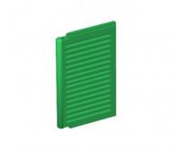 3856-6E EUROVOORDEEL: 10x Luik groot 1x2x3 voor ramen 3853- Voor elk raam 2x nodig groen NIEUW loc L11-14
