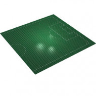 4186pb01-6G Basisplaat 48x48 Half voetbalveld (Pakketzending) groen gebruikt *5W000