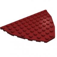47405-59 Boegpaat 10x12x1 rood, donker NIEUW *