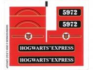4758stk01 STICKER Harry Potter- Hiogwarts Express (2e editie) NIEUW *0S0000