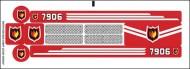 7906stk01 STICKER 7906 Fire Boat NIEUW *0S0000