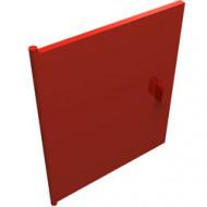 838-5G Deur voor kastje 837 rood gebruikt *