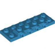 87609-153 Plaat 2x6x 2/3 4 noppen zijkant blauw, donkerazuur NIEUW *1L0000