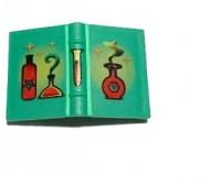 33009px1-6G Boek met rode fles Groen gebruikt loc