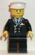 air013G Airport - Pilot met witte Hat, Black benen gebruikt *0M0000