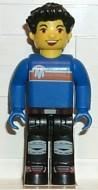 cre003G Max, blauw Torso, Black benen gebruikt *0M0000