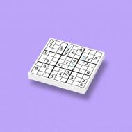 CUS0016 Tegel 2x2 Sudoku wit NIEUW *0A000