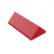HU005 DAKPAN Nok 2x4 DUPLO compatible rood NIEUW loc