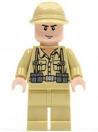 iaj005G Indiana Jones- Duitse soldaat 3 gebruikt *0M0000