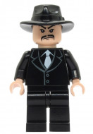 iaj027G Indiana Jones- Shanghai Gangster Snor gebruikt *0M0000