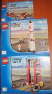 INS3368-G 3368 BOUWBESCHRIJVING- Space Port gebruikt *LOC BE