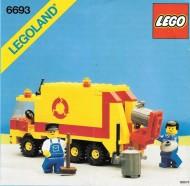 INS6693-G 6693 BOUWBESCHRIJVING- Refuse Collection Truck gebruikt *LOC M3