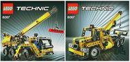 INS8067-G 8067 BOUWBESCHRIJVING- Mini-mobiele kraan gebruikt *