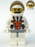 mm011G Astronaut met helm gezicht 2 kanten gebruikt *0M0000