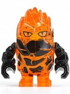 pm025G Power Miners-Rock Monster- Firax (trans-oranje) gebruikt loc