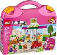 Set 10784 - Juniors- Town: Supermarket Suitcase- Nieuw