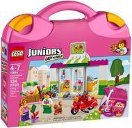 Set 10784 - Juniors- Town: Supermarket Suitcase- Nieuw