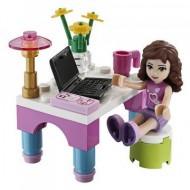Set 30102 - Friends: Olivia's Desk (polybag)- NIEUW